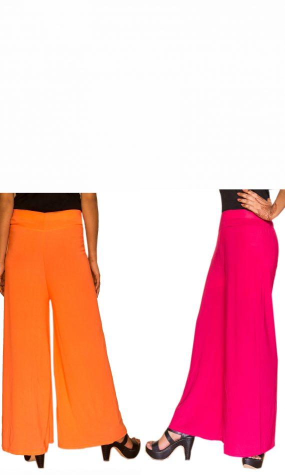 Orange & Pink Palazzo Set