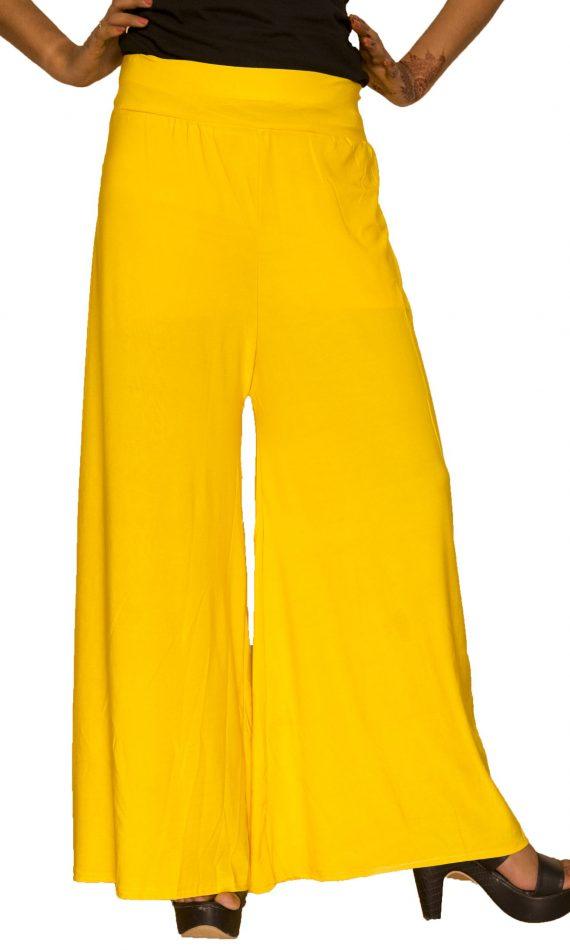Mirabella Yellow Lycra Palazzo